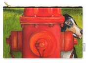 Fire Hydrant Dog Carry-all Pouch