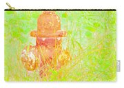 Fire Hydrant Watercolor Carry-all Pouch