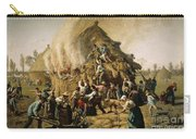 Fire In A Haystack, 1856 Carry-all Pouch