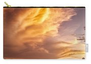 Fire In The Sky Carry-all Pouch by Dave Bowman