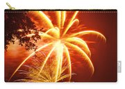 Fire In The Trees Carry-all Pouch by Phill Doherty