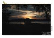 Fire Light Sunset Carry-all Pouch