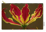 Fire Lily Carry-all Pouch