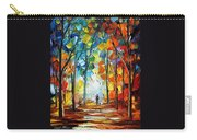 Fire Of Feelings Carry-all Pouch