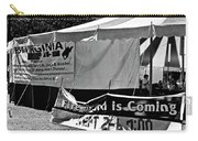 Fire Of God Is Coming Bw Carry-all Pouch