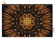 Fire Spikes Mandala Carry-all Pouch