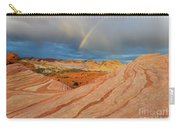 Fire Wave Rainbow Dawn Carry-all Pouch