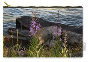 Fire Weed Looking At Lake Superior Carry-all Pouch