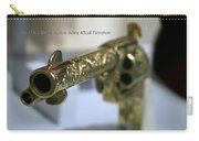Firearms Gold Colt Single Action Army 45cal Revolver Carry-all Pouch