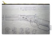Firearms Lever Action Rifle Drawing Carry-all Pouch