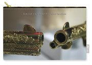 Firearms Pair Of Gold Colt Single Action Army 45cal Revolvers Carry-all Pouch