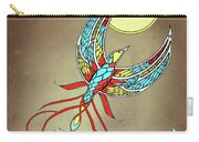 Firebird With Sun And Moon Carry-all Pouch