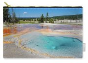 Firehole Spring Geyser Carry-all Pouch