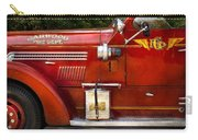 Fireman - Garwood Fire Dept Carry-all Pouch by Mike Savad