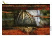 Fireman - Leather Head Carry-all Pouch by Mike Savad