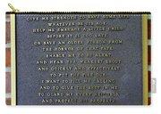 Fireman's Prayer Carry-all Pouch