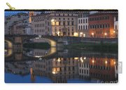 Firenze Blue I Carry-all Pouch