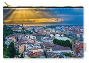 Firenze Sunset Carry-all Pouch by Inge Johnsson