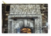 Fireplace At The Lodge Vertical Carry-all Pouch