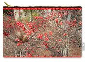 Firethorn Bushes Carry-all Pouch