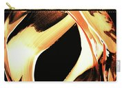 Firewater 1 - Buy Orange Fire Art Prints Carry-all Pouch by Sharon Cummings
