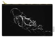 Fireweed Abstract Bw Carry-all Pouch