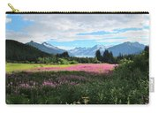 Fireweed At Mendenhall Glacier, Juneau, Ak Carry-all Pouch