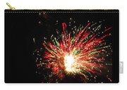 Firework Christmas Sparkle Carry-all Pouch