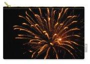 Firework Golden Lights Carry-all Pouch