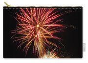 Firework Pink And Gold Carry-all Pouch