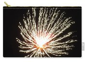 Firework White Fluff Carry-all Pouch