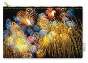 Fireworks Exploding  Carry-all Pouch by Garry Gay