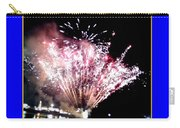 fireworks over San Rafael lake Carry-all Pouch