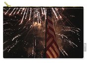 Fireworks With Flag Carry-all Pouch