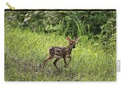 First Baby Fawn Of The Year Carry-all Pouch