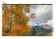 First Fall Colors In Rocky Mountain National Park Carry-all Pouch