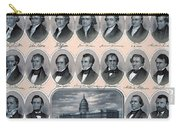 First Hundred Years Of American Presidents Carry-all Pouch