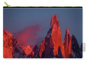 First Light On Cerro Torre - Patagonia Carry-all Pouch