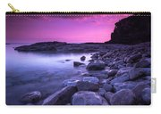 First Light On The Rocks At Indian Head Cove Carry-all Pouch