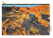 First Light On Valley Of Fire State Park Carry-all Pouch