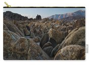 First Light Over Alabama Hills California Carry-all Pouch