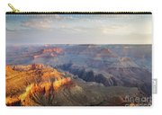 First Light Over Grand Canyon, Arizona, Usa Carry-all Pouch