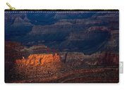 First Light Over Yavapai Point  Grand Canyon Carry-all Pouch