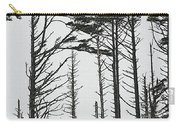 First Line Trees Along The Pacific Ocean Carry-all Pouch