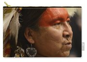Pow Wow First Nations Man Portrait 1 Carry-all Pouch