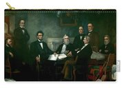 First Reading Of The Emancipation Proclamation Of President Lincoln Carry-all Pouch