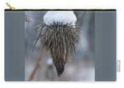 First Snow On The Thistle Carry-all Pouch