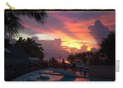 First Sunset In Negril Carry-all Pouch