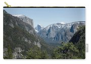 First View Of Yosemite Valley Carry-all Pouch
