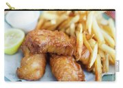 Fish And Chips On A Plate Carry-all Pouch